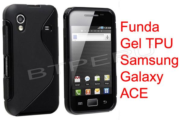 Funda gel silicona para galaxy ace s5830 protector skin tpu s 5 sodji precio d per - Fundas samsung ace ...